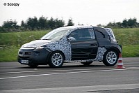 Opel Junior spotted for the first time