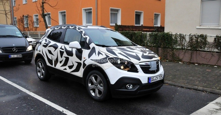Spyshots: Opel Mokka Caught in the Open