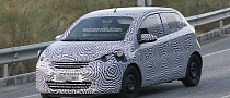 Spyshots: Peugeot 108 City Car