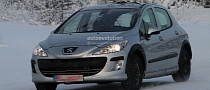 Spyshots: Peugeot 301 Test Mule With Shorter Wheelbase