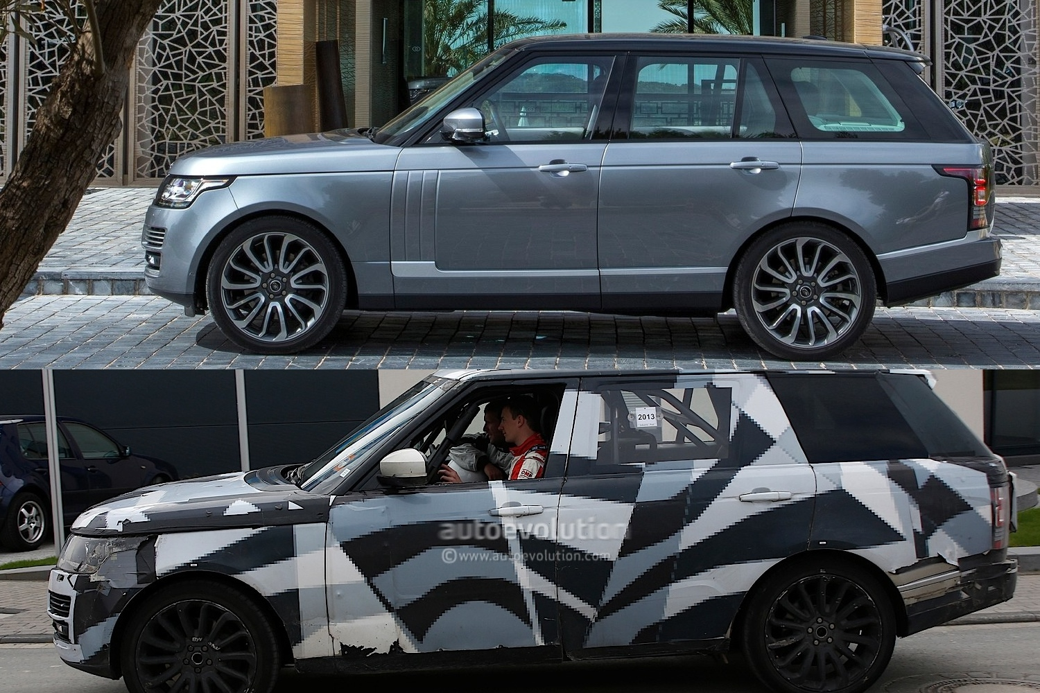 spyshots range rover long wheelbase near nurburgring autoevolution. Black Bedroom Furniture Sets. Home Design Ideas