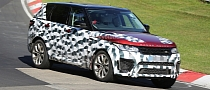 Spyshots: Range Rover Sport RS Hits the Nurburgring Again