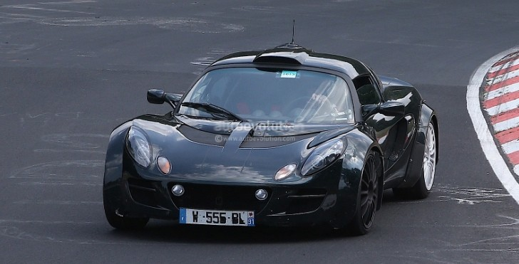 Spyshots: Renault Alpine Sportscar Test Mule Is a Lotus