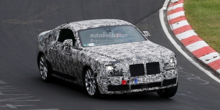 Spyshots: Rolls Royce Ghost Coupe at the Nurburgring