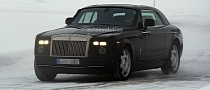 Spyshots: Rolls-Royce Phantom Coupe Facelift