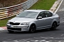 Spyshots: Skoda Octavia RS III at the Nurburgring