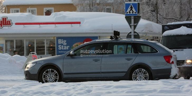 Spyshots: Skoda Superb Scout - autoevolution