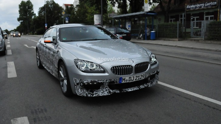 Spyshots: Two BMW 6-Series Gran Coupes in Traffic