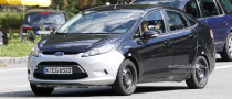 Spyshots: US Spec Ford Fiesta Sedan