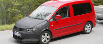 Spyshots: Volkswagen Caddy Facelift