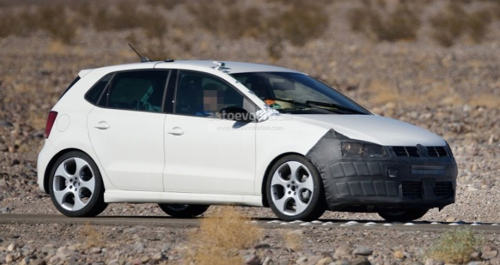 Spyshots: Volkswagen Polo Hatch, BlueGT Spotted Testing in Death Valley