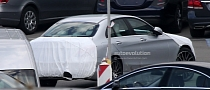 Spyshots: W205 Mercedes C-Class Almost Revealed