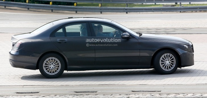 Spyshots: W205 Mercedes C-Class Testing Under Less Camo