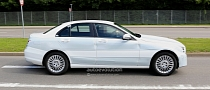 Spyshots: White W205 Mercedes C-Class Prototype Spotted in Germany