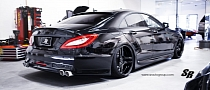 SR Auto Puts the Sin in a Sinister Mercedes CLS [Photo Gallery]