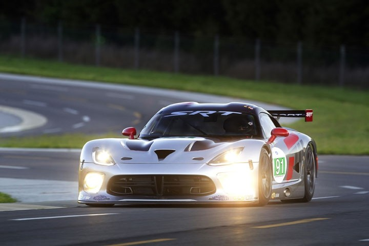 SRT Viper GTS-R Wins Its First ALMS Race