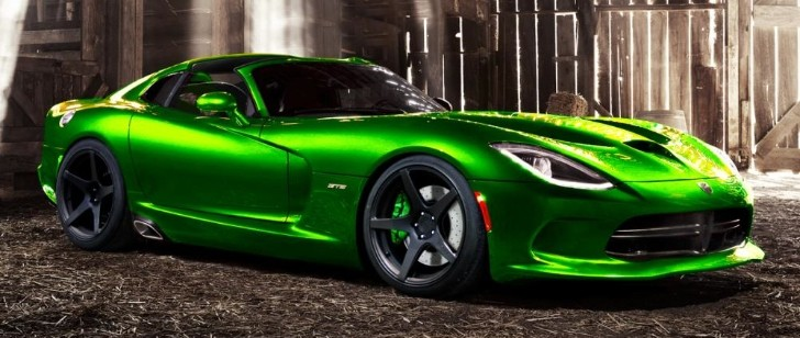 SRT Viper Roadster Rendering Released