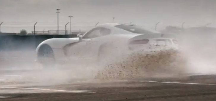 SRT Viper Smoke Show to Start Your Day [Video]