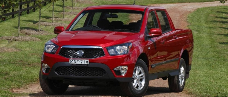 Ssangyong Actyon Sports Launched in Australia