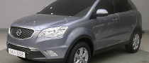 SsangYong Korando C First Pictures, to Debut in Paris