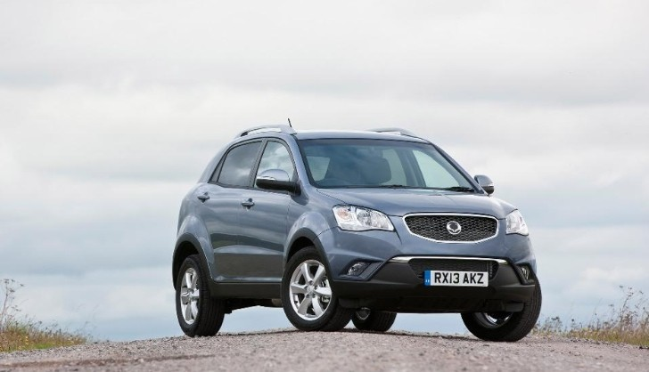 SsangYong Korando Gets Autumnal Discount in the UK