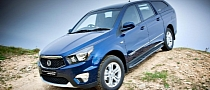 SsangYong Korando Sports Pick-Up UK Prices and Specifications Released