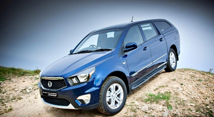ssangyong korando sports pick up uk prices and specifications released autoevolution. Black Bedroom Furniture Sets. Home Design Ideas
