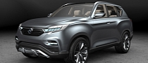 "Ssangyong Reveals ""Limitless Interface Vehicle"" Concept"