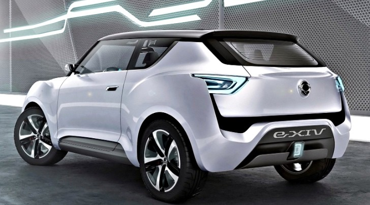 SsangYong Shows Off e-XIV Concept Ahead of Paris Debut