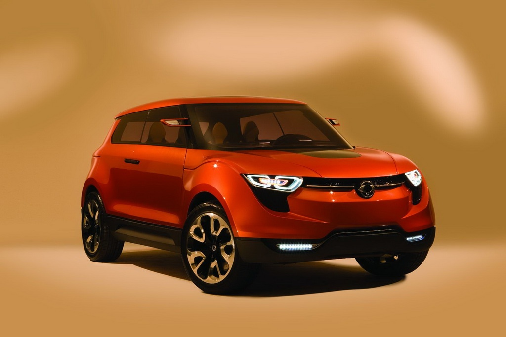 2011 ssangyong concept xuv - photo #12