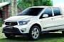 SsangYoung Korando Sports / SUT-1 Launched in Korea