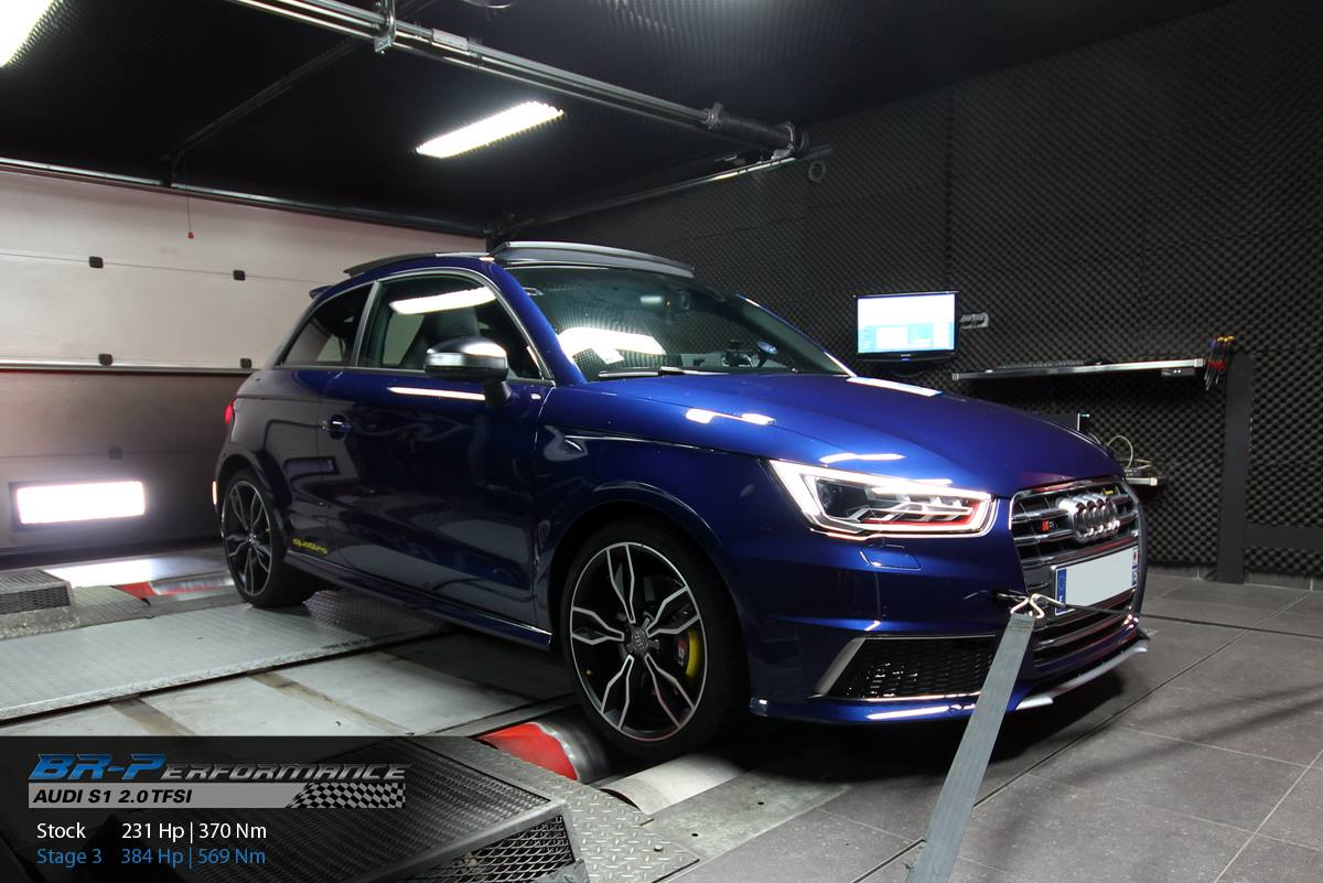 stage 3 audi s1 gets 384 hp thanks to milltek sports cat. Black Bedroom Furniture Sets. Home Design Ideas