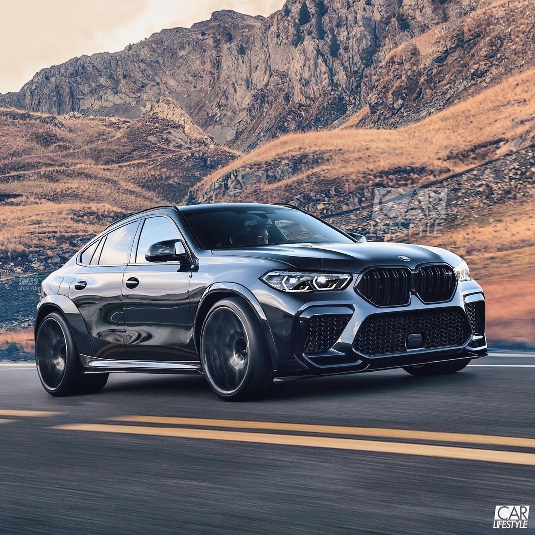 Bmw 2020: Stanced 2020 BMW X6 M Is Full Fat Material, Has Wide Rear