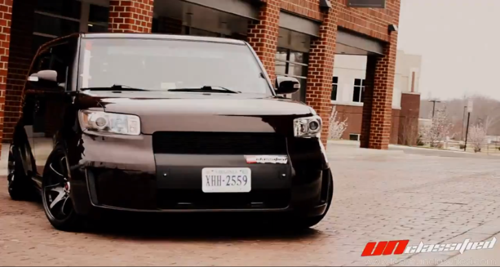 Stanced Scion xB Drops the Bass [Video]