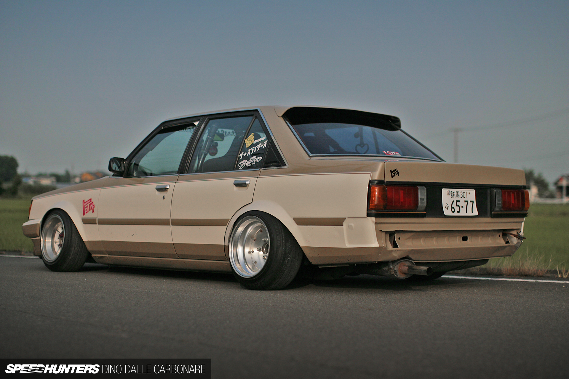 Stanced Toyota Carina 172 Inches Of Head Turning