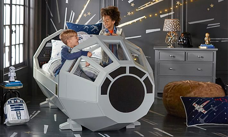 Star Wars Millennium Falcon Bed Is The Reason You Ll Have