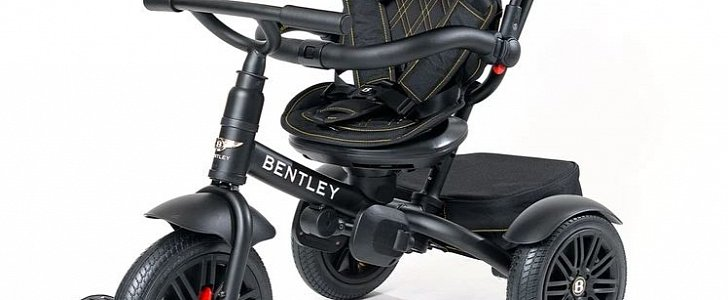Start 'Em Young With the 6-in-1 Centennial Bentley Stroller Trike - autoevolution
