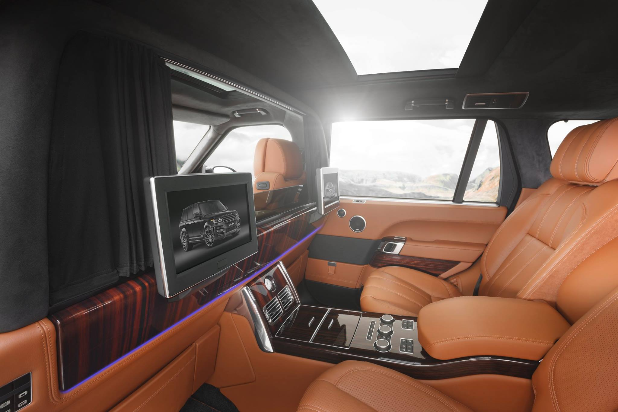 Startech Nobilis Is A Range Rover Lwb With Brabus Ibusiness Interior