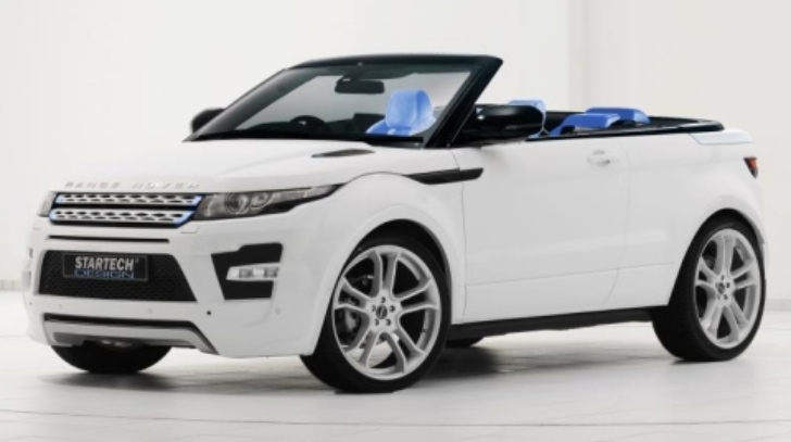 startech range rover evoque cabrio autoevolution. Black Bedroom Furniture Sets. Home Design Ideas