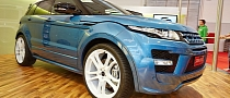 Startech Range Rover Evoque LPG Shows Up at Essen 2013 [Live Photos]