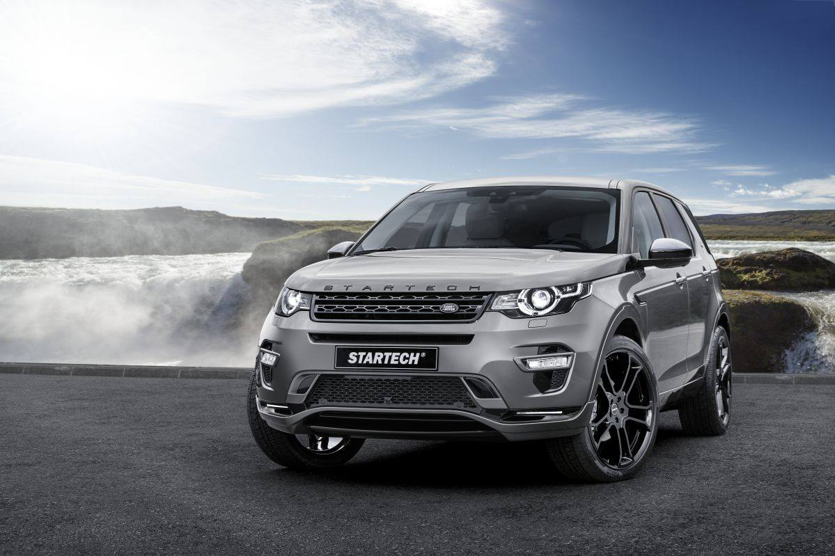 startech transforms discovery sport from family suv to assault vehicle photo gallery. Black Bedroom Furniture Sets. Home Design Ideas