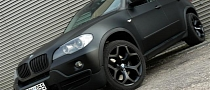 Stealth SUV: Matte Black BMW X5 from Lithuania