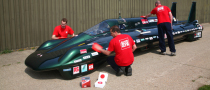 Steam Car Got Shiny for Breaking Record