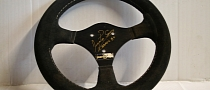 Steering Wheel from Senna's First F1 Race for Sale