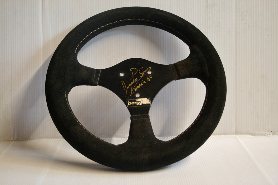 Steering Wheel From Senna S First F1 Race For Sale