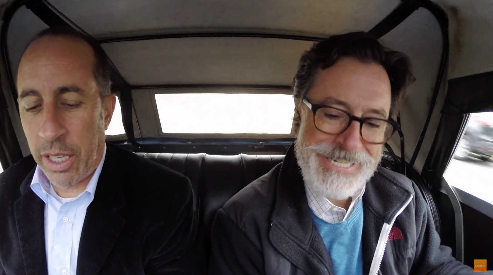 Comedians Cars Getting Coffee Colbert