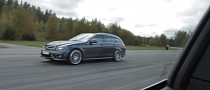 Stertmann BMW 135i Faces Mercedes Benz C63 AMG [Video]