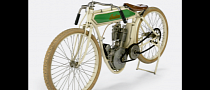 Steve McQueen 1914 Indian Model F Board-Track Racing Motorcycle Under the Hammer