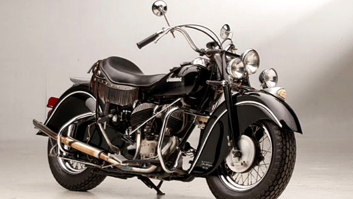 Steve McQueen's 1946 Indian Chief Under the Hammer [Photo Gallery]