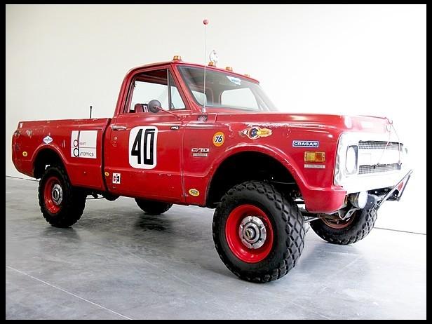 Steve McQueen's Chevy Baja Race Truck Goes Under the ...